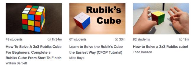 Lose rubiks kube