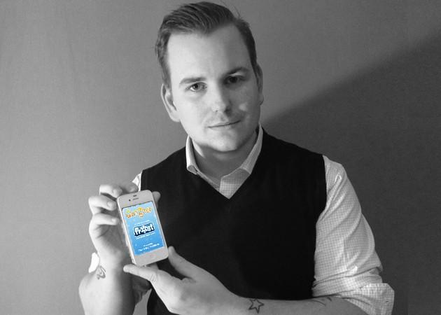 """Thor Erling hadde ingen erfaring med å utvikle apper. Hans første app """"Quizzer"""" ble lastet ned over 300 000 ganger. Foto: Privat"""