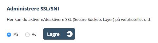 SSL Sertifikat One.com