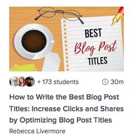 Blogg innlegg titler