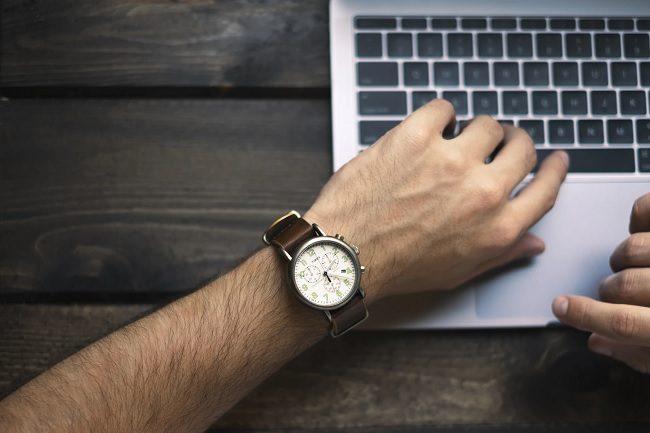 Hvor mye tid på bloggen